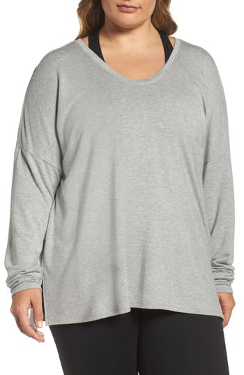 Zella She's Cute Terry Pullover (Plus Size)