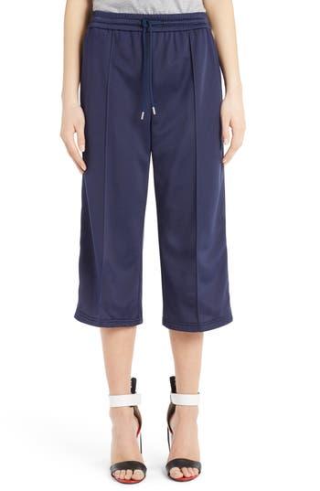 MSGM Crop Wide Leg Track Pants