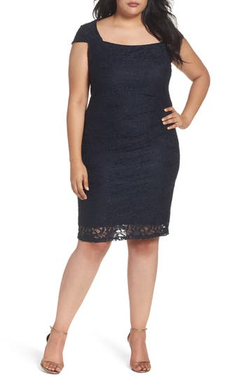 Marina Lace Cocktail Dress..