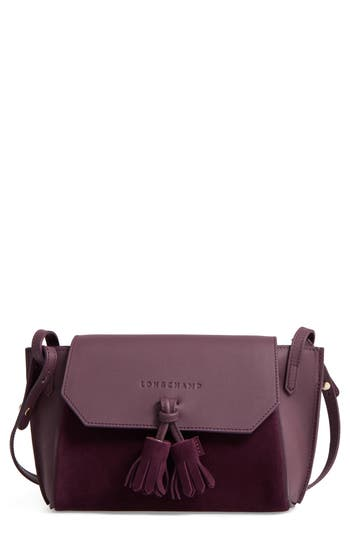 Longchamp Small Penelope Leather Crossbody Bag
