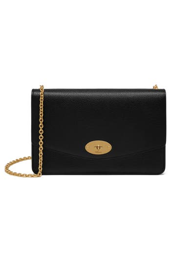Mulberry Medium Darley Leather Clutch
