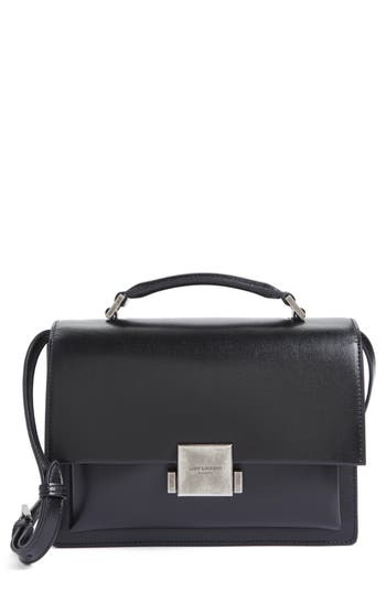 Saint Laurent Medium Bellechasse School Leather Shoulder Bag