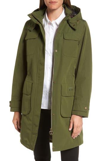 Barbour Velum Hooded Waterproof Jacket