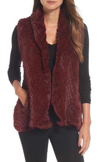 Love Token Faux Fur Vest