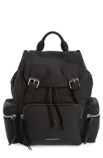 Burberry Medium Rucksack Leath..