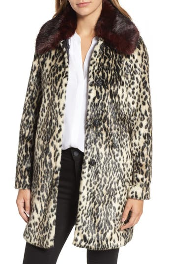 Vince Camuto Faux Fur Coat