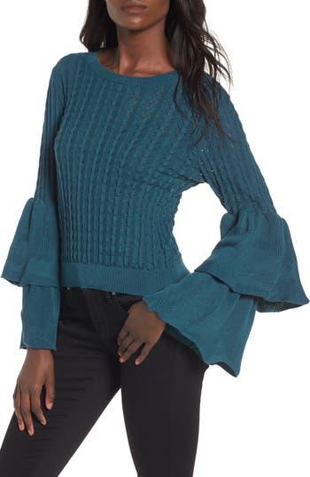 devlin Molly Ruffle Sweater