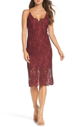 Bardot Lace Pencil Dress