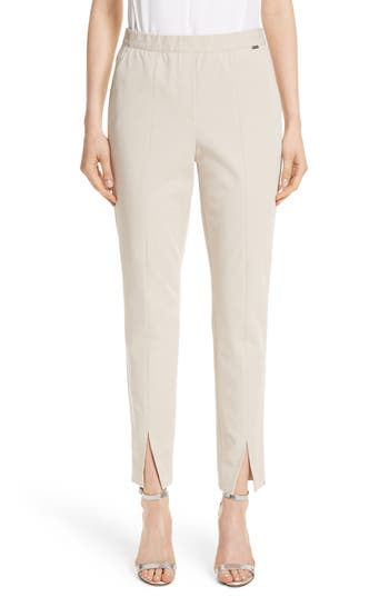 St. John Collection Fine Stretch Twill Pants