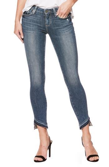 PAIGE Verdugo Undone Hem Skinny Jeans (Era)
