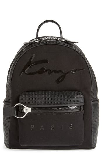 KENZO Kanvas Signature Perforated Backpack