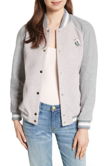 Ted Baker London Augusta Embellished Bomber Jacket