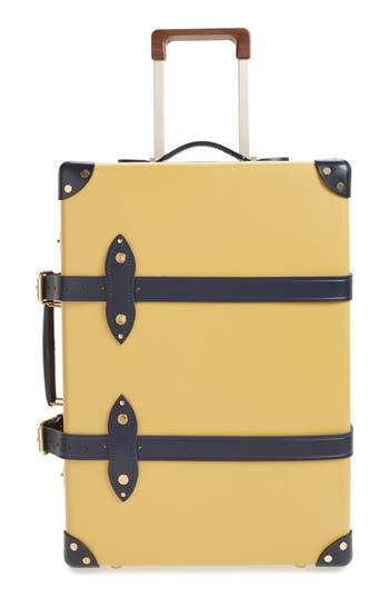 Globe-Trotter Mustard 21-Inch Hardshell Travel Trolley Case