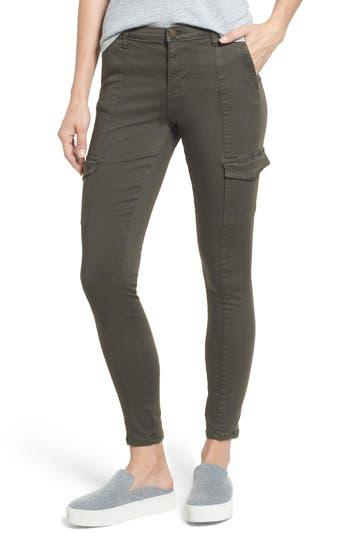 Caslon® Skinny Cargo Pants (Regular & Petite)