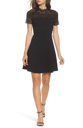 Felicity & Coco Lace Fit & Flare Dress (Regular & Petite) (Nordstrom Exclusive)