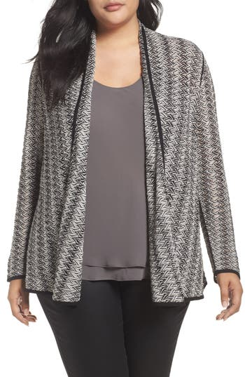 Nic+Zoe Twinkle Four-Way Cardigan (Plus Size)