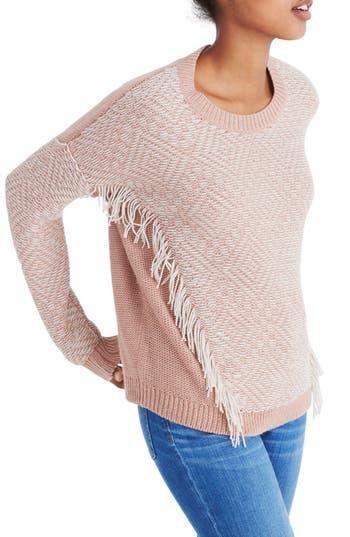 Madewell Reverse Diamond Pullover Sweater