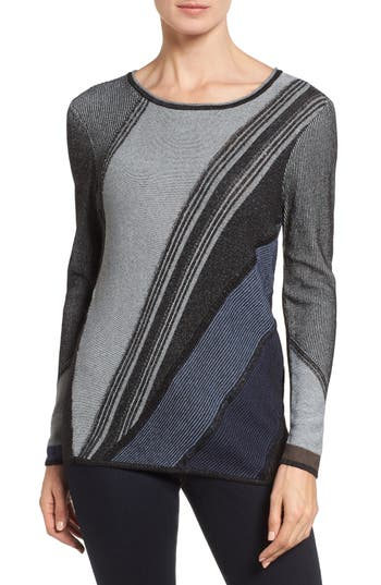 NIC+ZOE Blue Horizon Knit Top