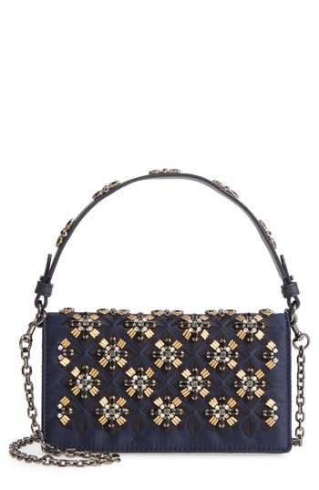 Tory Burch Cleo Beaded Clu..