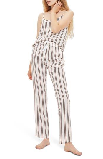 Topshop Spaced Stripe Pajamas