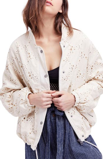 Daisy Jane Bomber Jacket by Free People