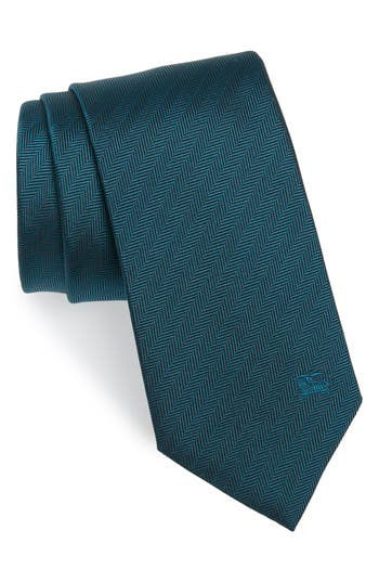 Burberry Herringbone Silk Tie