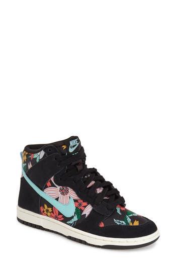 Nike Dunk Hi Skinny Print High Top Basketball Sneaker