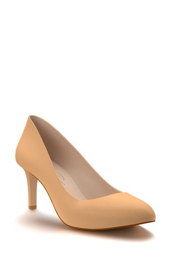Shoes of Prey Round Toe Pump (..