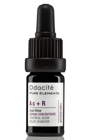 Main Image - Odacité Ac + R Açai-Rose Youthful Glow Facial Serum Concentrate
