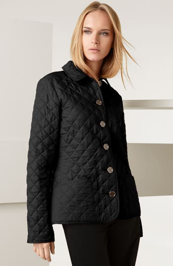 Burberry Brit Quilted Jacket Nordstrom