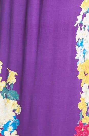 Alternate Image 3  - Felicity & Coco Print Jersey Maxi Dress (Regular & Petite) (Nordstrom Exclusive)