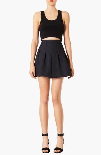 Alternate Image 4  - Topshop 'Lexie' Jacquard Full Skirt