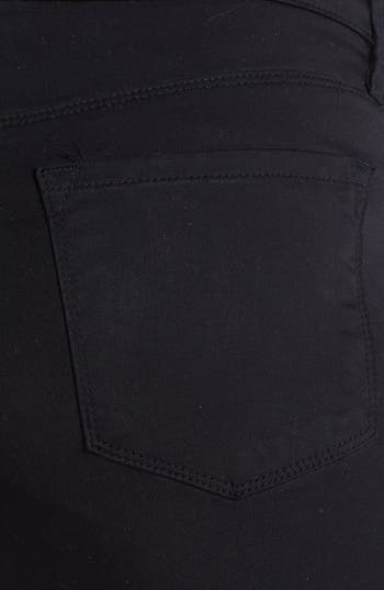 Alternate Image 3  - J Brand '3402' Denim Maternity Leggings (Black)