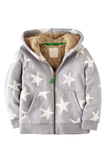 Mini Boden Shaggy Hoodie Toddler Boys Little Boys