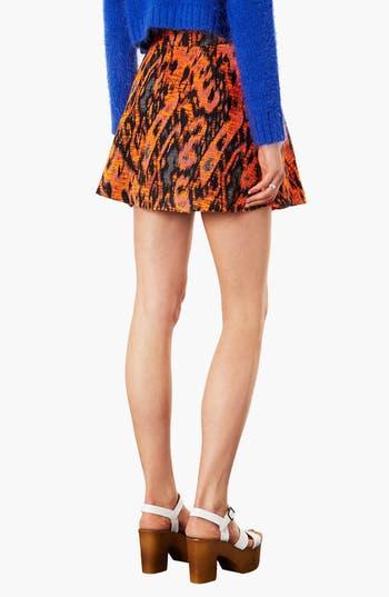 Alternate Image 2  - Topshop Bouclé Round Skirt