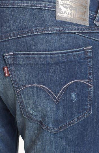 Alternate Image 3  - Levi's® 'XP' Boyfriend Skinny Jeans (Miners Blue)