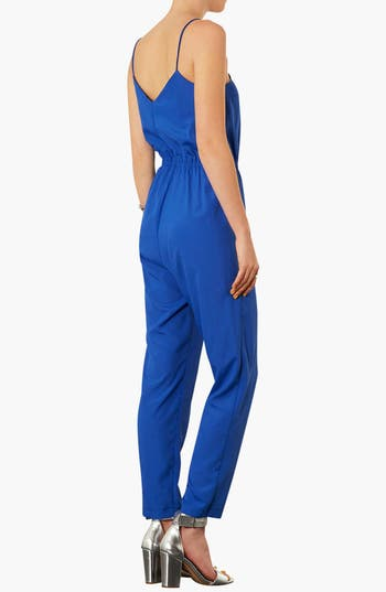 Alternate Image 2  - Topshop V-Neck Jumpsuit