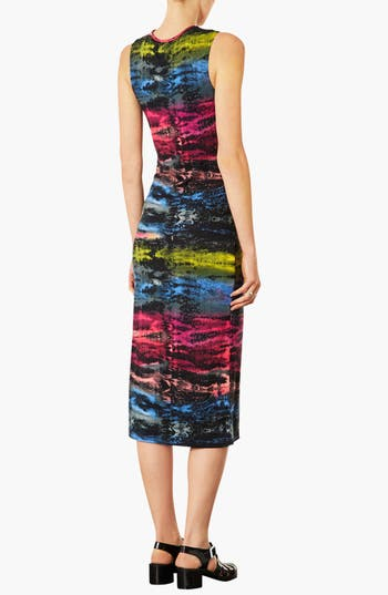 Alternate Image 2  - Topshop 'Electric Ray' Midi Dress