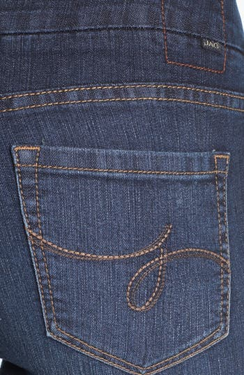 Alternate Image 3  - Jag Jeans 'Paley' Pull-On Bootcut Jeans (Atlantic Blue) (Petite)