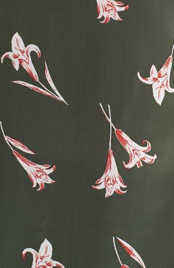 Alternate Image 3  - Lucky Brand 'Abbey' Print Silk Tank (Plus Size)