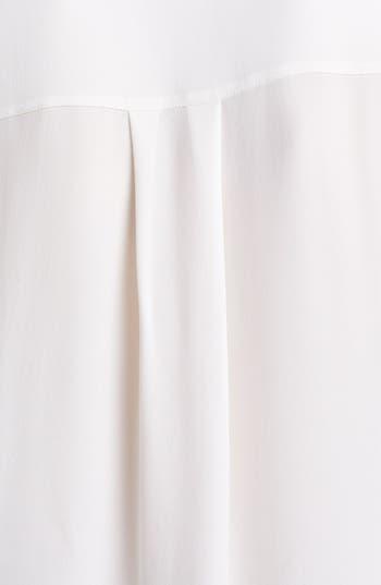 Alternate Image 3  - Vince Long Sleeve Contrast Placket Silk Blouse