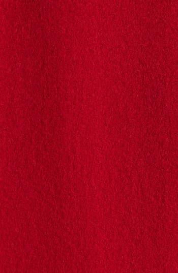 Alternate Image 3  - Fleurette Stitch Trim Loro Piana Wool Coat (Petite)