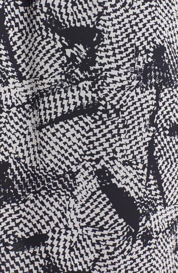 Alternate Image 3  - dee elle Print Zip Back Skater Dress (Juniors)