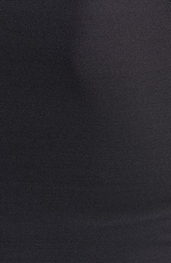 Alternate Image 3  - Nicole Miller Leather Trim Denim Sheath Dress