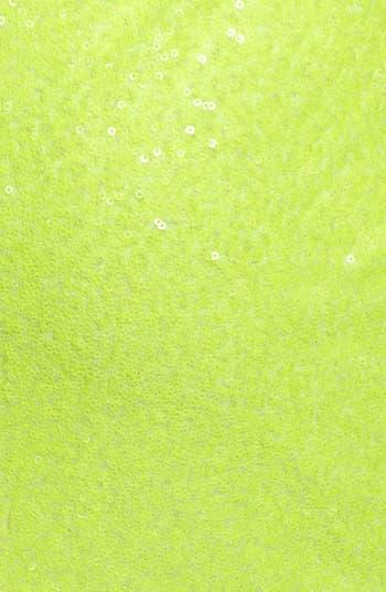 Alternate Image 3  - Hailey Logan Back Cutout Sequin Body-Con Dress (Juniors)