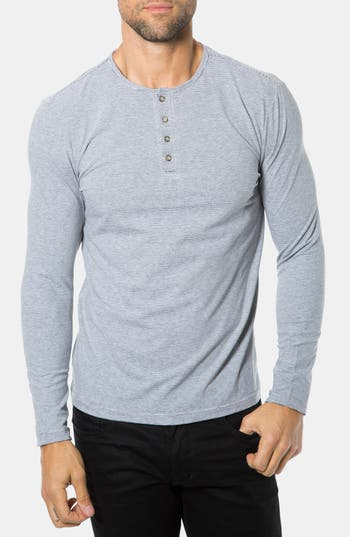 Superfine Long Sleeve Henley % pima cotton with a luxury finish gives these henleys a sleek look you can dress up. They work just as well under a blazer as on their own.