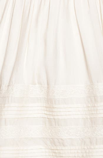Alternate Image 3  - Rubbish® Pleat Lace Trim Full Skirt (Juniors)