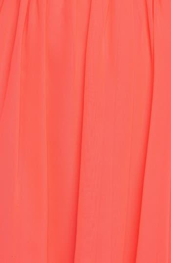 Alternate Image 3  - Hailey Logan Cutout Chiffon Dress (Juniors)