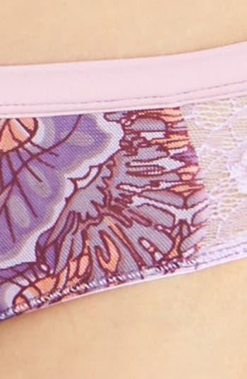 Alternate Image 5  - Maaji 'Fluttering Wings' Lace Boyshorts