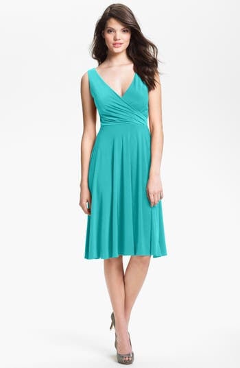 Isaac mizrahi new york surplice jersey dress regular for Robes de mariage cible isaac mizrahi